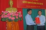 Ông Lê Quốc Dũng được bổ nhiệm Giám đốc Sở Khoa học và Công nghệ Long An