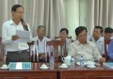 Cụm thi đua số 2 UB.MTTQ Việt Nam tỉnh Long An giao ban quí I/2017