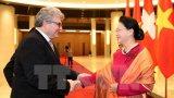 Chủ tịch Quốc hội hội đàm với Chủ tịch Thượng viện Thụy Sỹ