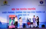 Công đoàn ngành Y tế Long An đoạt giải nhất Hội thi tuyên truyền Luật Phòng, chống tác hại thuốc lá