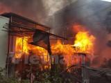 Hỏa hoạn tại trung tâm Đà Lạt, nhiều phòng trọ bị thiêu rụi
