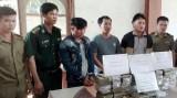Lào - Việt phá án ma túy lớn, thu 97 bánh heroin