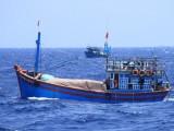 Thái Lan bắt giữ 5 tàu cá cùng 16 ngư dân Việt Nam