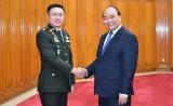 Thủ tướng tiếp Tư lệnh Quốc phòng Quân đội Hoàng gia Thái Lan