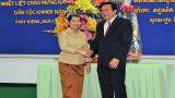 Lãnh đạo tỉnh Long An thăm, chúc Tết cổ truyền dân tộc Khmer tại tỉnh Svay Rieng