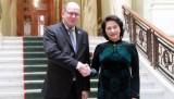Chủ tịch Quốc hội hội đàm với Chủ tịch Quốc hội Thụy Điển