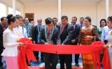 Lãnh đạo tỉnh Long An chúc Tết cổ truyền dân tộc Khmer tại tỉnh Prey Veng