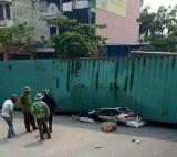 Hai người tử vong tại chỗ trong vụ xe container đè bẹp xe Yaris