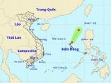 Áp thấp nhiệt đới trên biển đã suy yếu thành một vùng áp thấp