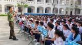 Tuyên truyền phòng, chống ma túy tại Trường THPT Hậu Nghĩa