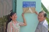 Đức Hòa: Trao nhà tình nghĩa cho thân nhân liệt sĩ Võ Văn Rằng