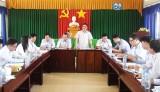 Đoàn khảo sát Ban Tổ chức Trung ương làm việc với Đảng ủy xã Tân Tập