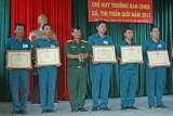 Tân Thạnh: Hội thi chỉ huy trưởng ban CHQS xã, thị trấn giỏi