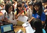 Hoàn thành nhập dữ liệu đăng ký dự thi THPT quốc gia 2017