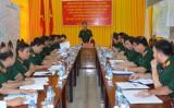 Tiếp tục thực hiện có hiệu quả công tác quân sự, quốc phòng