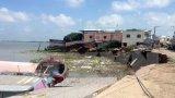 An Giang: Dự báo vụ sạt lở đất ở sông Hậu còn tiếp diễn nghiêm trọng