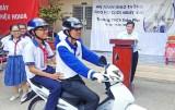 TP.Tân An tuyên truyền Luật Giao thông đường bộ cho học sinh