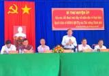 Bí thư Huyện ủy Tân Thạnh đối thoại trực tiếp với nhân dân về chính sách phát triển hợp tác liên kết sản xuất