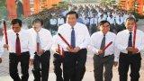 Đoàn đại biểu Long An viếng Nghĩa trang liệt sĩ tỉnh