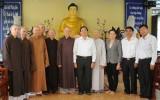 Lãnh đạo tỉnh Long An: Chúc mừng các cơ sở Phật giáo nhân dịp Đại lễ Phật đản Phật lịch 2561