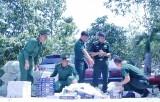 Đồn Biên phòng cửa khẩu Mỹ Quý Tây: Bắt giữ 9.600 gói thuốc lá ngoại nhập lậu