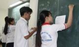 Học thêm tại trường, học sinh được quản lý chặt chẽ