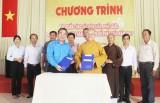 Phối hợp tuyên truyền, giáo dục, đoàn kết, tập hợp thanh niên tín đồ Phật giáo