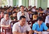 Thạnh Hóa: Cử tri quan tâm công tác phòng, chống tham nhũng