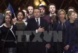 Lãnh đạo châu Âu nồng nhiệt chúc mừng chiến thắng của ông Macron