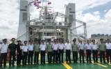 Tàu Cảnh sát biển 8004 của Việt Nam thăm chính thức Trung Quốc