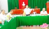Phó Bí thư Thường trực Tỉnh ủy Long An - Đỗ Hữu Lâm khảo sát mô hình Bí thư đồng thời là Chủ tịch UBND xã