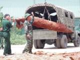 Di dời thành công quả bom nặng 500kg nằm trong khu dân cư
