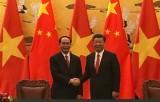 Chủ tịch nước Trần Đại Quang hội đàm với Chủ tịch nước Trung Quốc