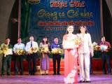 21 tiết mục đoạt giải trong Hội thi Giọng ca cổ nhạc CB,CC,VC&NLĐ