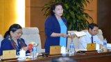 Khai mạc phiên họp thứ 10 Ủy ban Thường vụ Quốc hội