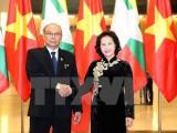 Chủ tịch Thượng viện Myanmar kết thúc chuyến thăm chính thức Việt Nam