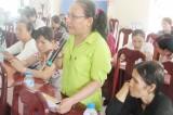 Bến Lức: Đối thoại với hội viên phụ nữ về xây dựng nông thôn mới