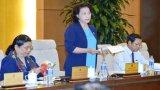 Báo cáo Quốc hội về trường hợp ông Võ Kim Cự, tăng thời gian chất vấn