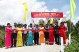 Hơn 1.000 hộ dân có cầu kiên cố để lưu thông