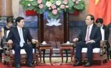 Chủ tịch nước: Việt Nam coi trọng quan hệ hợp tác với Trung Quốc