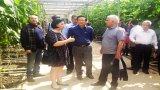 Đoàn công tác tỉnh Long An thăm và làm việc tại Tổ hợp đa chức năng Hà Nội-Mátxcơva