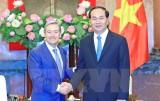 Chủ tịch nước Trần Đại Quang tiếp Bộ trưởng Thương mại quốc tế Canada