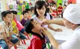 Ngày 1/6, gần 5 triệu trẻ em được uống bổ sung vitamin A