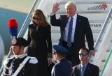 Tổng thống Mỹ Donald Trump đã tới Rome, bắt đầu thăm Italy