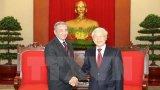 Tổng Bí thư Nguyễn Phú Trọng tiếp Đoàn đại biểu Đảng Cộng sản Cuba