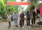 Thủ Thừa: Khởi công xây dựng cầu giao thông nông thôn