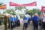 Huyện đoàn Cần Đước tích cực bảo vệ môi trường