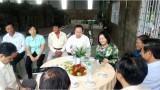 Phó Chánh Văn phòng Trung ương Đảng - Trần Thanh Bình khảo sát tình hình sản xuất nông nghiệp tại Long An