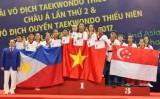 Việt Nam giành 4 HCV quyền taekwondo thiếu niên châu Á 2017