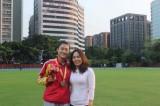 Lê Tú Chinh giành HCV 100m ở Giải điền kinh Thái Lan